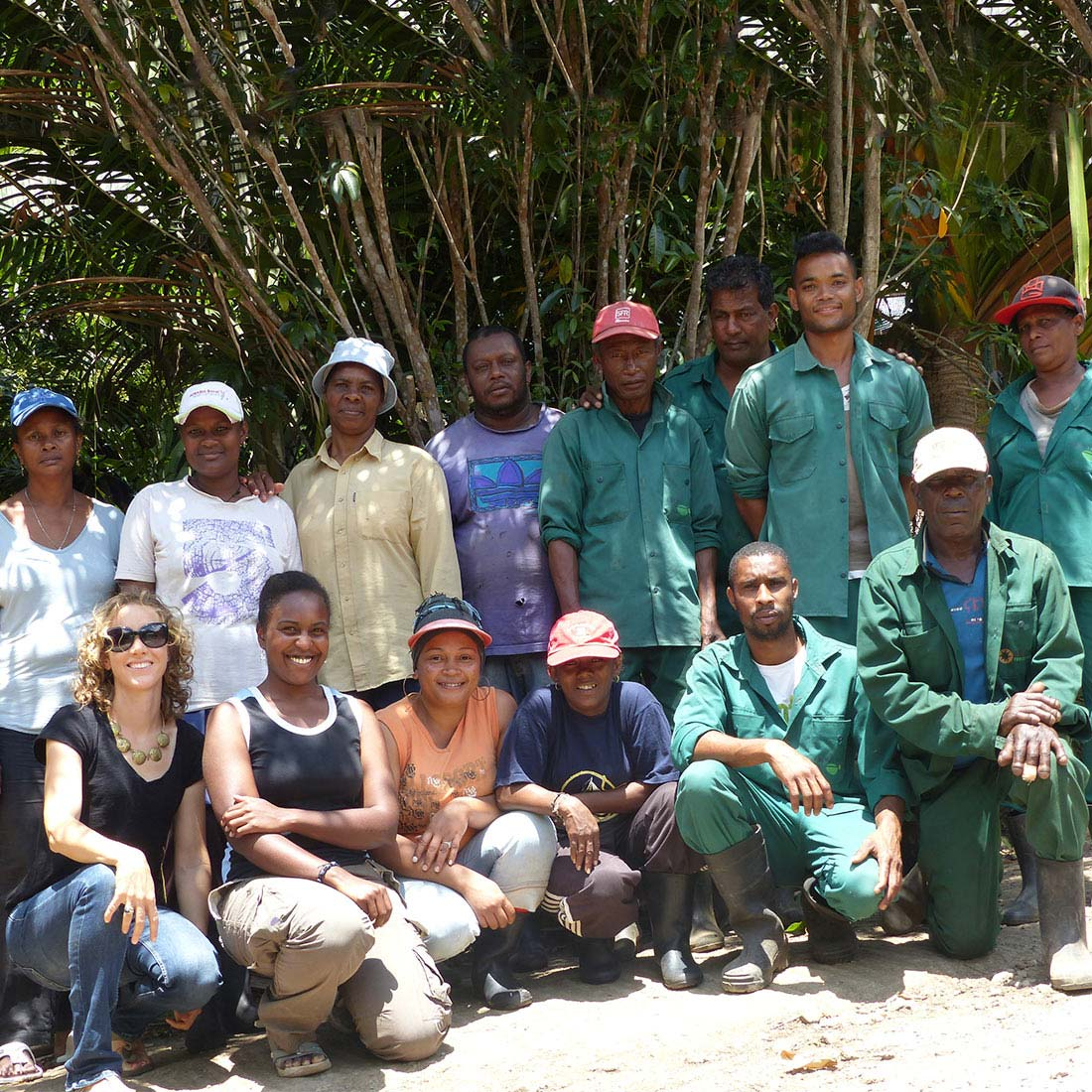 Conservation Team - Ebony Forest - Mauritius